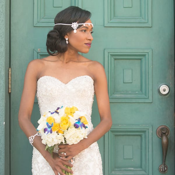 Beautiful Bride at The Treasury St. Augustine