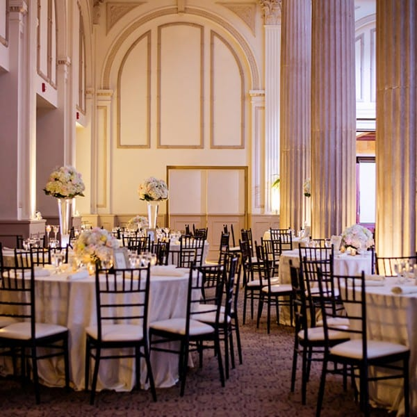 Wedding reception Decor Photo in Grand Ballroom St. Augustine