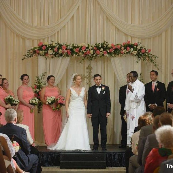 Wedding Ceremony at The Treasury