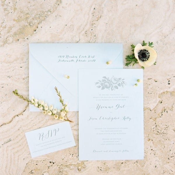 Wedding Invitations for Treasury on the Plaza Wedding