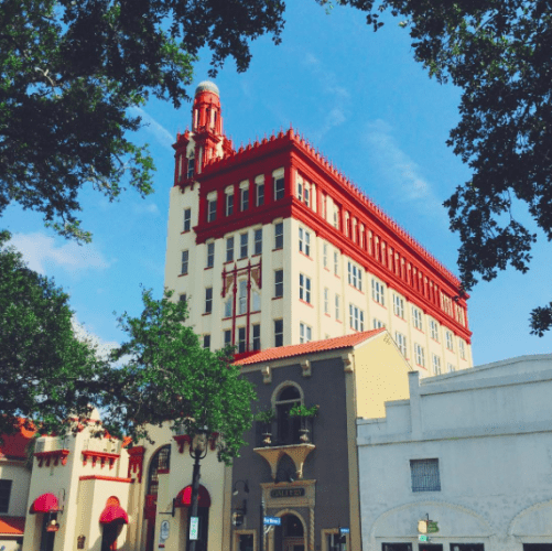 Treasury Bank Building in St. Augustine