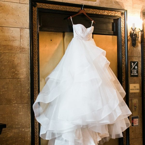 Bridal gown in St. Augustine