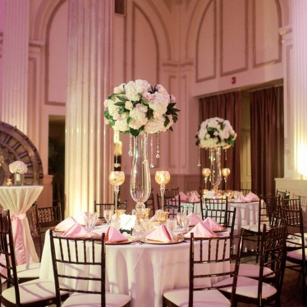Wedding Decor at The Treasury on The Plaza