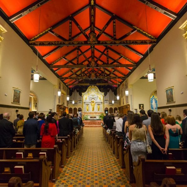 Inside of The Cathedral Basilica of St. Augustine