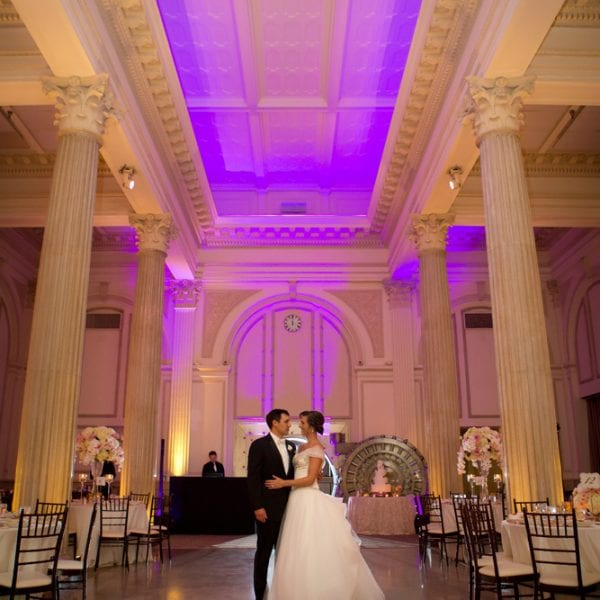 Bride and Groom First Dance at The Treasury
