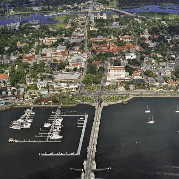 St. Augustine From Above
