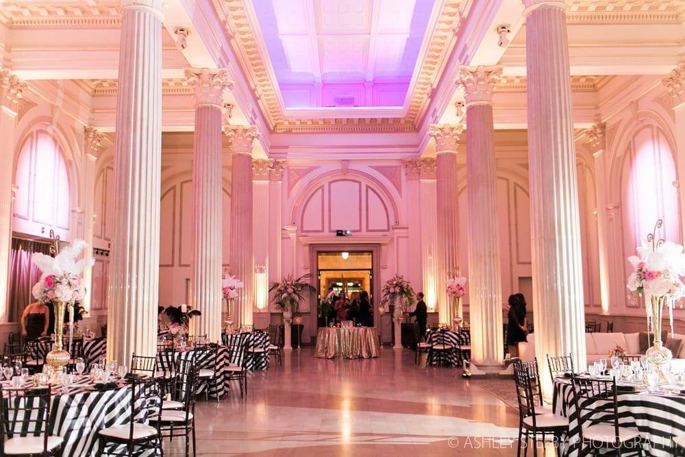 Hollywood Glam Wedding at The Treasury