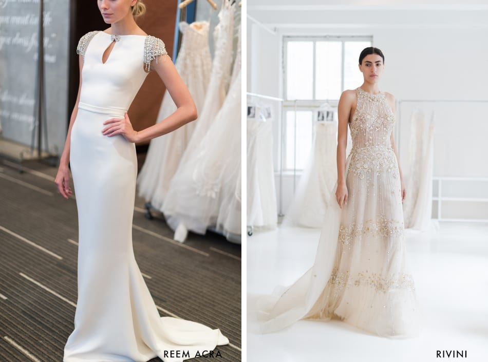 Rivini & Reem Acra | Vintage & Art Deco Bridal Gown | Matching Your Wedding Dress to your venue style | Treasury on the Plaza Blog