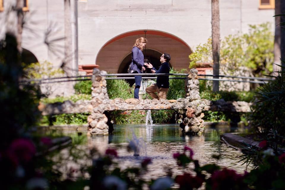 Lightner Museum courtyard proposal   St. Augustine proposal ideas   Treasury on the Plaza