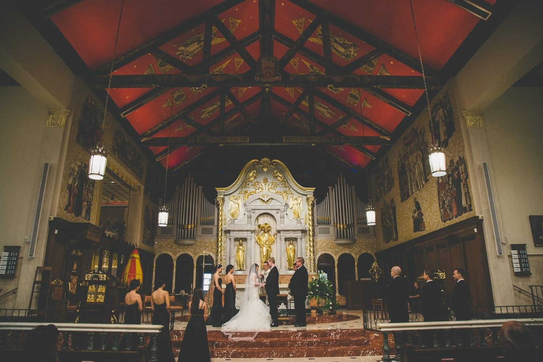 Wedding Ceremony | Modern St. Augustine Wedding at The Treasury on The Plaza