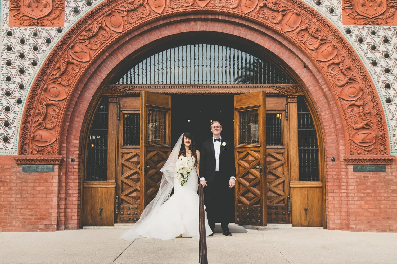 Bride and groom portraits | Modern St. Augustine Wedding at The Treasury on The Plaza