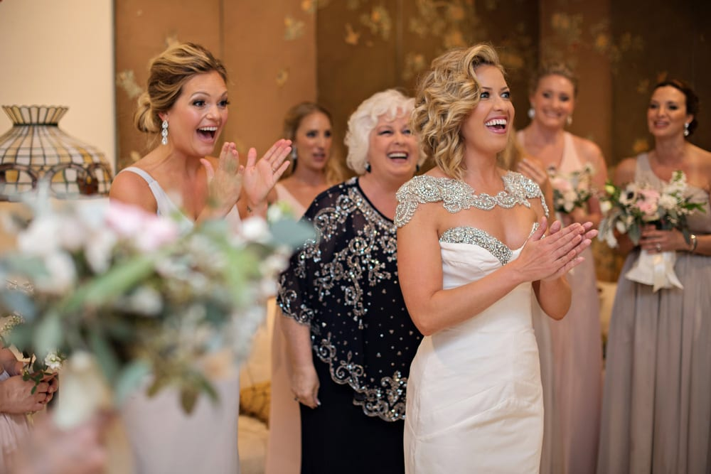 Hair and makeup in the Bridal Suite | A Romantic Modern Wedding At The Treasury on the Plaza, St. Augustine