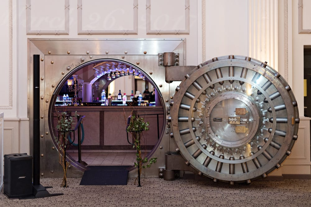Vault at The Treasury | A Romantic Modern Wedding At The Treasury on the Plaza, St. Augustine