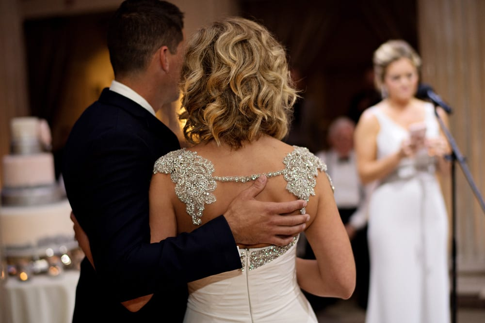 Wedding Speeches | A Romantic Modern Wedding At The Treasury on the Plaza, St. Augustine