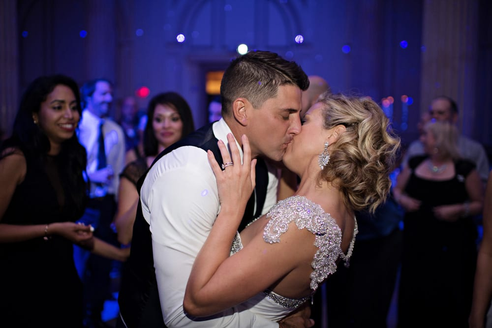 Wedding Reception | A Romantic Modern Wedding At The Treasury on the Plaza, St. Augustine