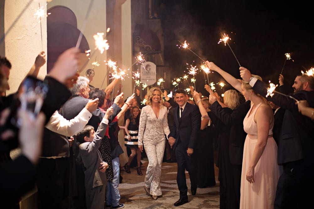Wedding Jumpsuit | A Romantic Modern Wedding At The Treasury on the Plaza, St. Augustine