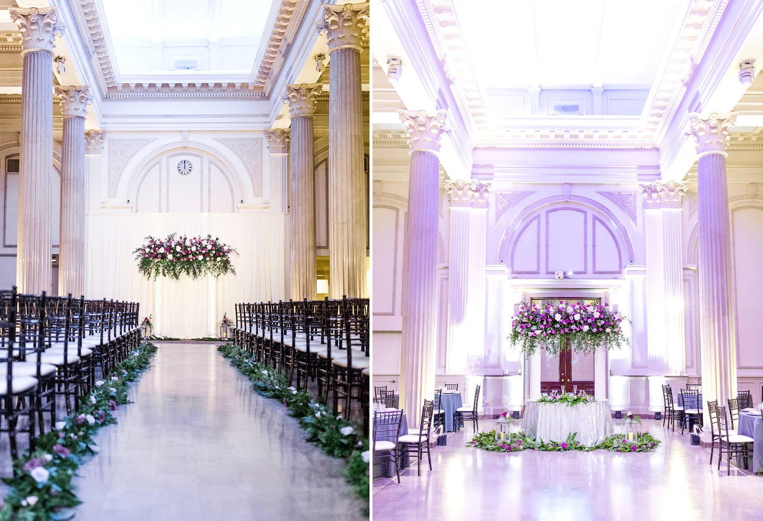 Host your ceremony and reception in the same location | Wedding Cost Saving Tips From The Treasury on the Plaza