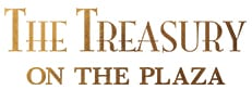 The Treasury on the Plaza Logo