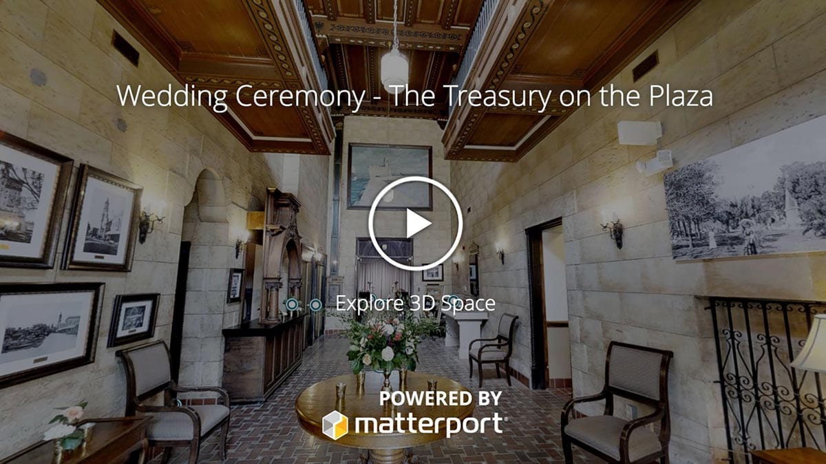 Wedding Ceremony Matterport Cover