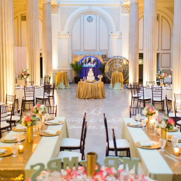 Mint and Green Wedding at The Treasury on The Plaza