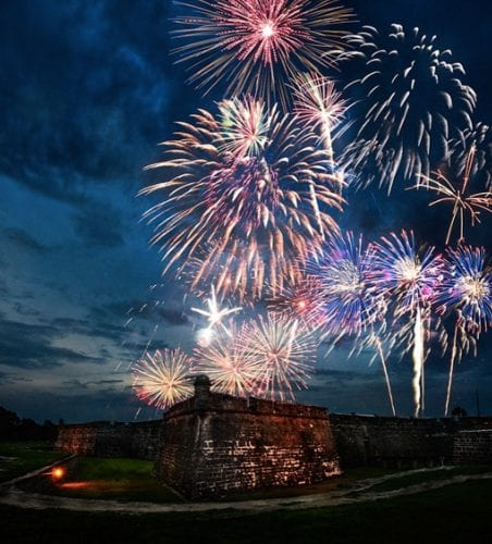 Castillo de San Marco Fort in St. Augustine