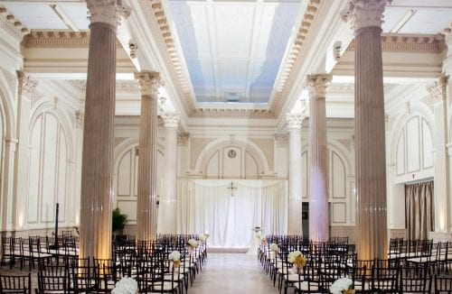 St. Augustine Wedding Ceremony at The Treasury on The Plaza