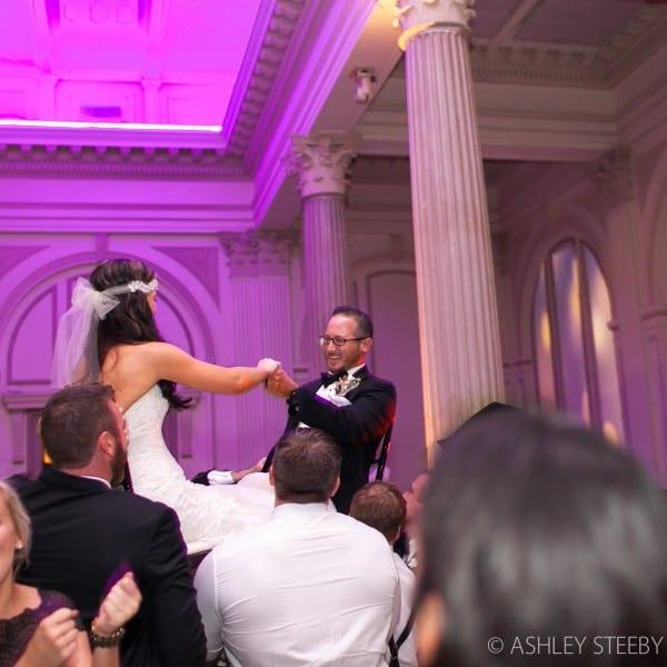 Jewish Wedding Ritual at The Treasury on The Plaza
