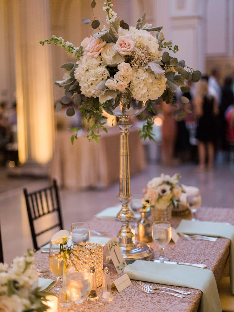 Classic Wedding Reception at Historic St. Augustine Venue