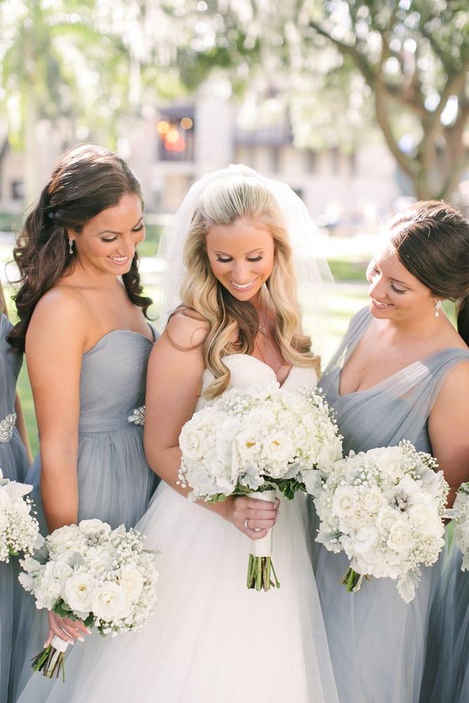 Bridal party at The Treasury