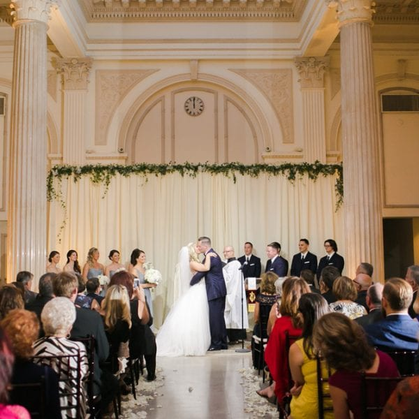 Wedding Ceremony at The Treasury on the Plaza