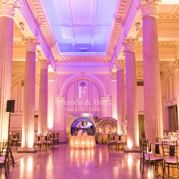 Ballroom Wedding Decor