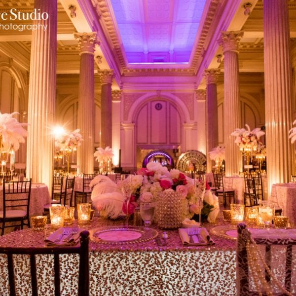 Treasury on The Plaza wedding decor photo