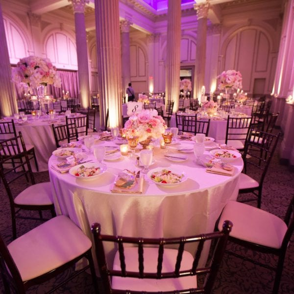 Wedding Reception at The Treasury on The Plaza St. Augustine