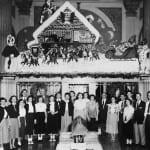 1953: Christmas Decor at The Exchange Bank