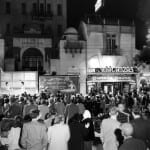 1951: Movie Premieres in front of The Exchange Bank
