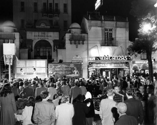 Movie Premiere At The Exchange Bank | History of The Treasury on The Plaza