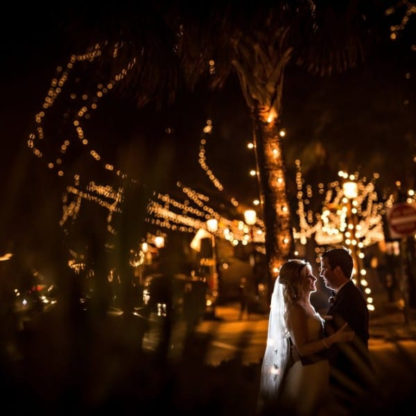 Nights of Lights Wedding in St. Augustine