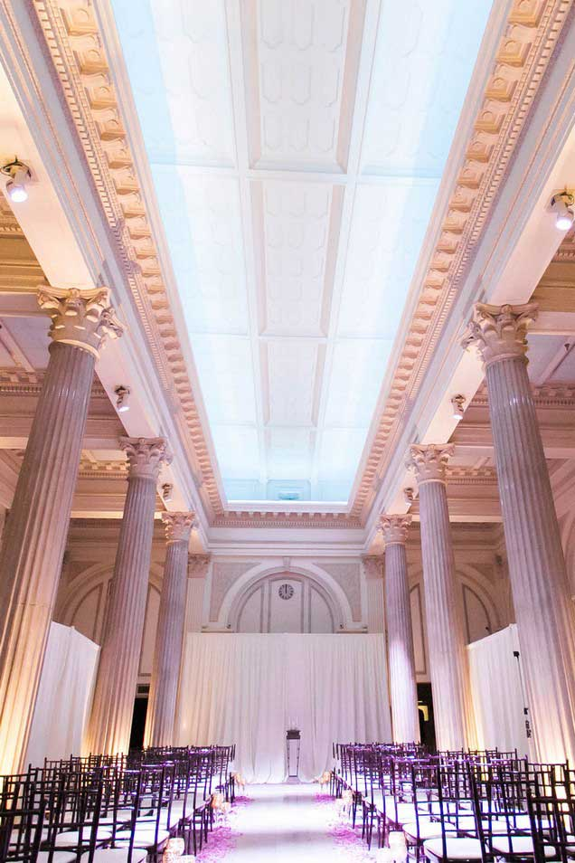 Wedding at The Treasury on The Plaza, Photo by Ashley Steeby Photography
