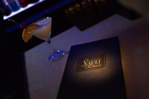 Vault Bar Drink Menu