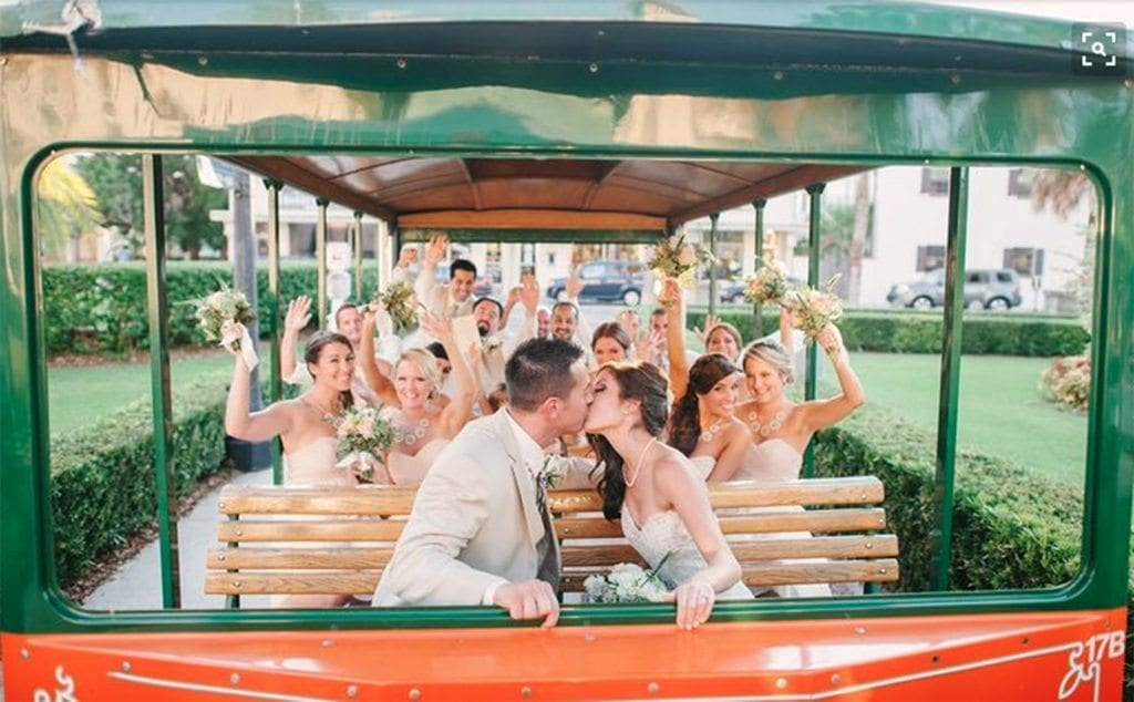 St. Augustine Wedding Trolley- Old Town Trolley | St. Augustine Wedding Venue Questions
