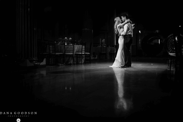 Last dance in The Treasury ballroom