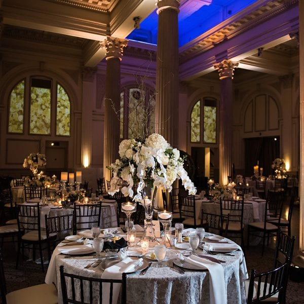 St. Augustine Wedding Decor at The Treasury on The Plaza