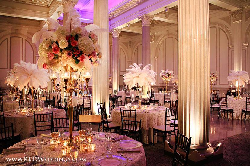 New Orleans Themed Wedding At The Treasury On Plaza St Augustine