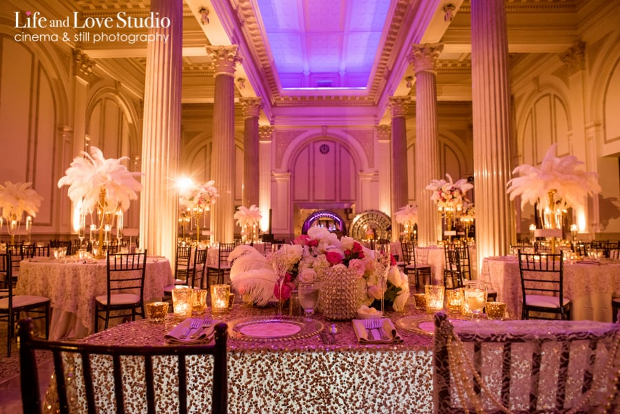 New Orleans themed wedding at The Treasury on The Plaza St. Augustine