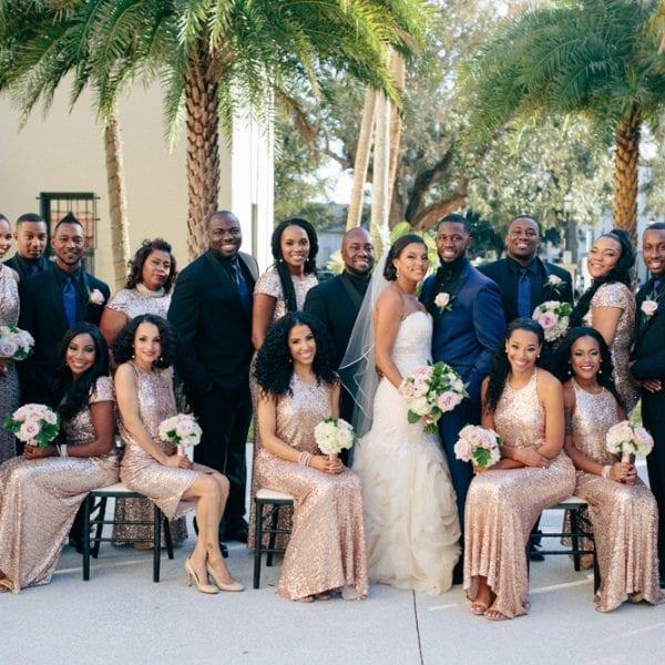 Amber & Derrick's Treasury on The Plaza Wedding Featured Image