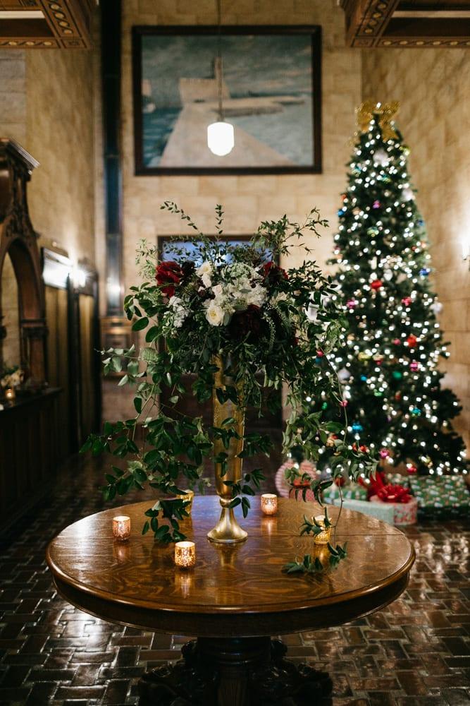 Reception decor | Treasury On The Plaza | Treasury Venue Collection | St. Augustine
