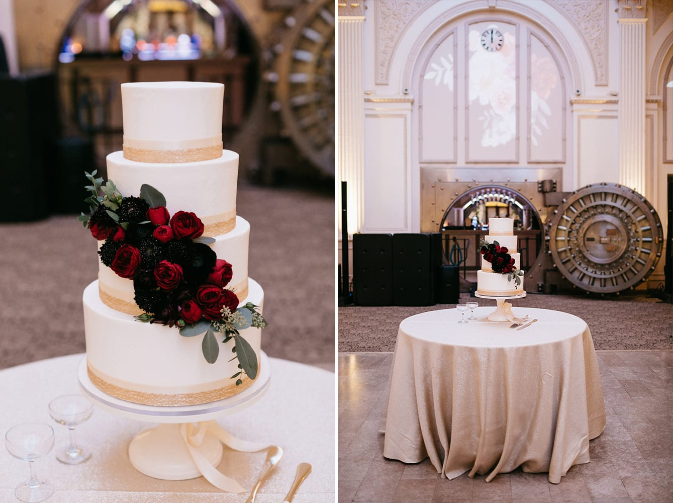 Wedding Cake | Treasury On The Plaza | Treasury Venue Collection | St. Augustine
