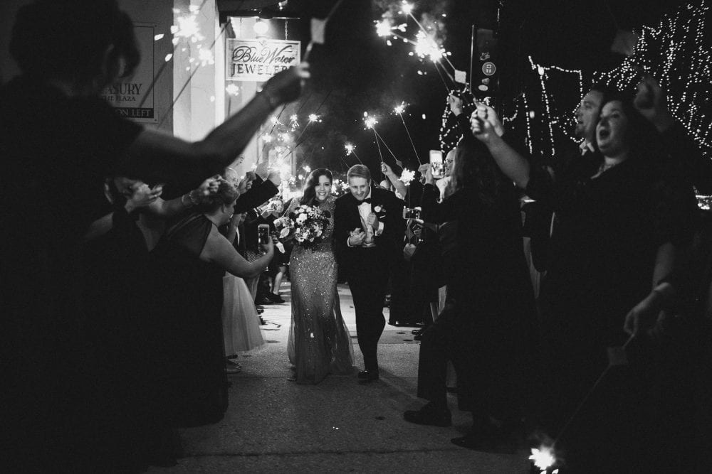 Wedding Exit | Treasury On The Plaza | Treasury Venue Collection | St. Augustine