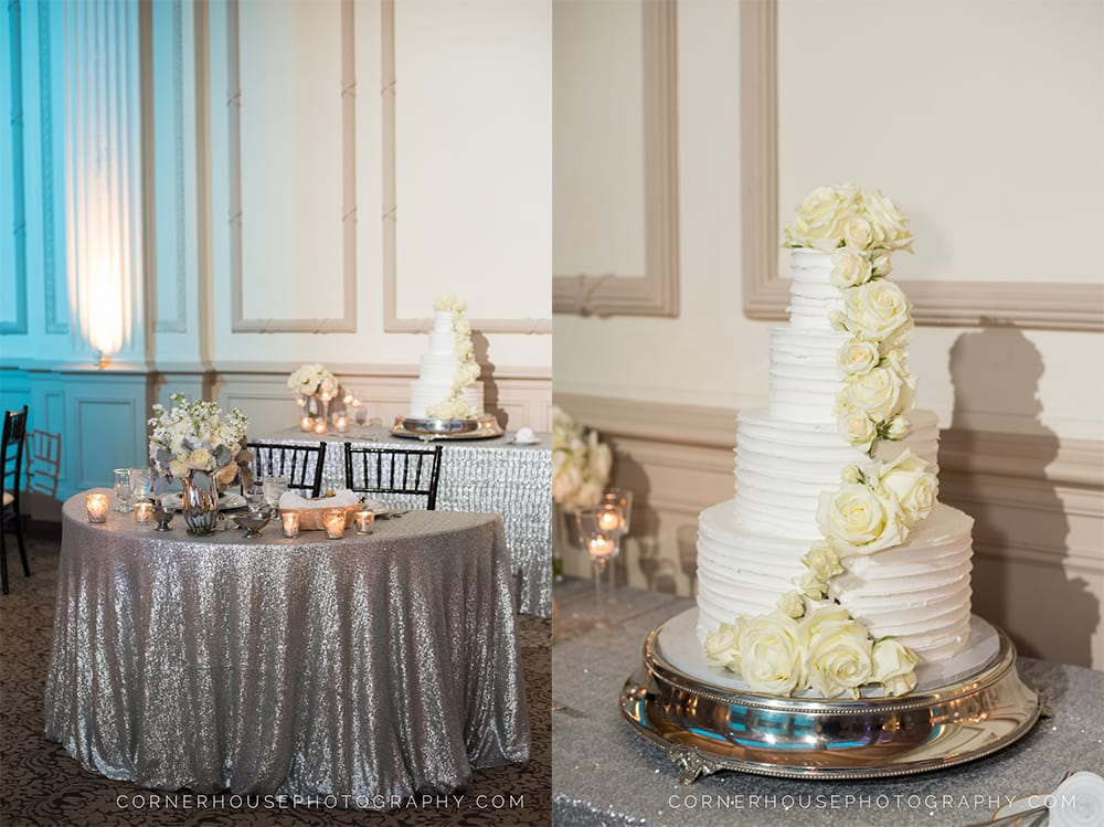 Treasury St. Augustine Wedding Cake