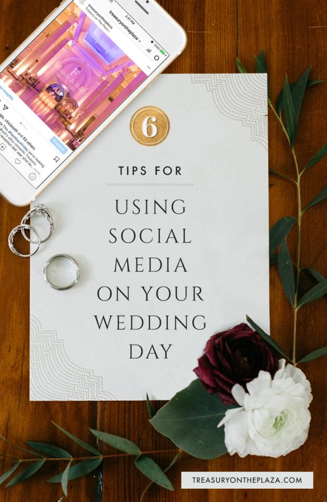 from wedding hashtags to snapchat filters 6 tips for using social